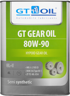 GT Gear Oil 80W-90 GL-5 4 л