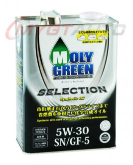 MOLY GREEN SELECTION 5W30 SN・GF-5 4 л