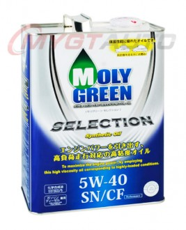 MOLY GREEN SELECTION 5W40 SN・GF-5 4 л