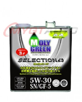 MOLY GREEN SELECTION 5W30 SN・GF-5 3л
