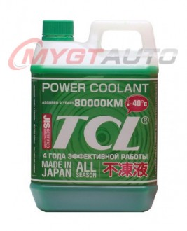 TCL POWER COOLANT -40C зеленый  2 л